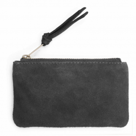 Suede pouch Tinkerbell large