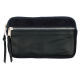 Leather and suede wallet Miguel large