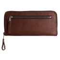 Leather travel wallet Big Gran
