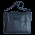 Leather laptop bag Van