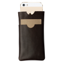Leather iPhone 5 cover Sabia
