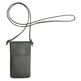Leather iPhone bag Nigela with detachable strap