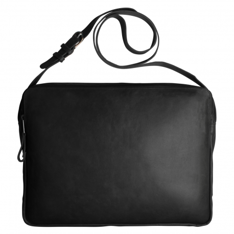 Leather laptop bag Marc & Vicky