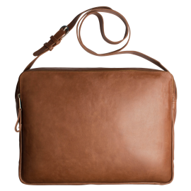 Leather 13 inch  laptop bag Marc & Vicky