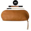 Leather make-up bag Rai Large