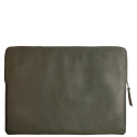 Leather laptopsleeve Lucas for the Apple 17 inch