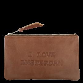 Leren etui Tinkerbell XXL 'I Love Amsterdam'
