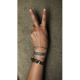 Leather bracelet Jack & Jill