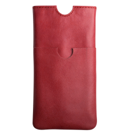Leather iPhone sleeve Sabia up to iPhone 12
