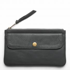 Leather wallet Pocket L