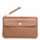 Leather wallet Pocket large