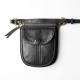 Leather fannypack Anita large