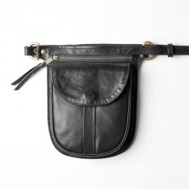 Leather fannypack Anita large