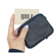 Leather wallet Square