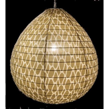 Cotton lamp shade Leo yellow