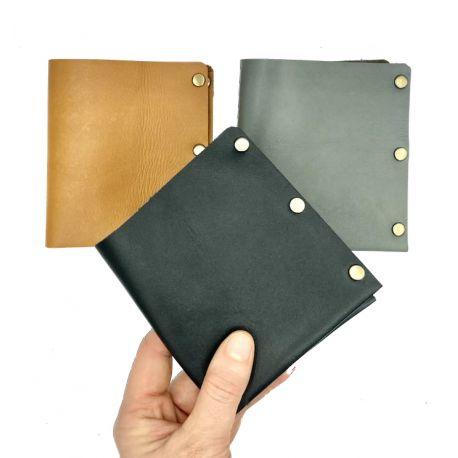 Leather handmade wallet rush