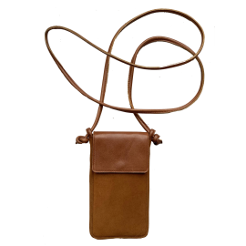 Leather  and suede iPhone bag Nigela