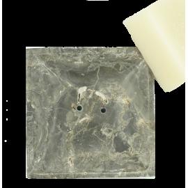 Marmeren zeepbakje