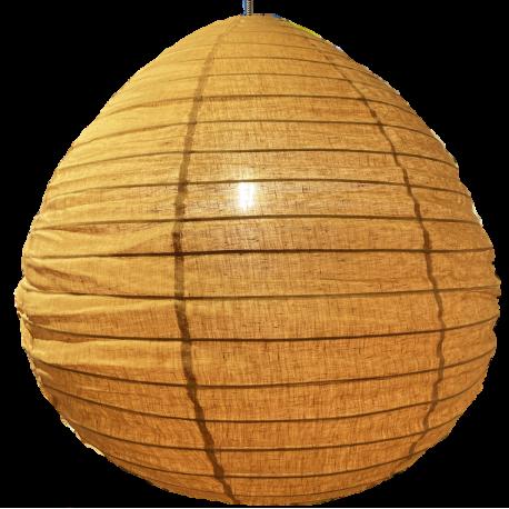 The linen lampshade Liv caramel L
