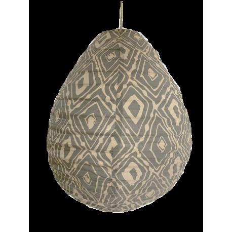 The cotton lamp shade Lela lightblue S