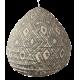 The cotton lamp shade Lela lightblue M