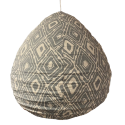 The cotton lampshade Lela lightblue M