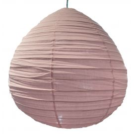 The linen lampshade Liv pink M