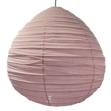 De linnen lampenkap Liv roze M