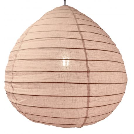 The linen lampshade Liv pink L