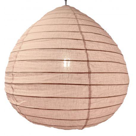 De linnen lampenkap Liv roze L