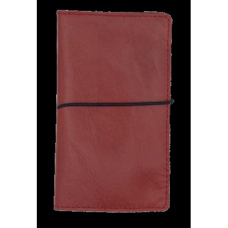 Leather card en pasport holder Yuni 2