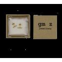 Gold plated earrings Lisan
