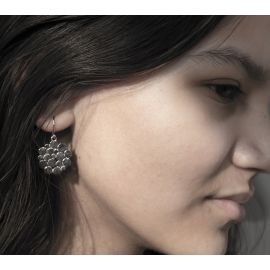Zilveren oorbellen Syl