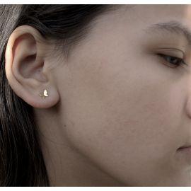 Verguld gouden oorbellen Maria