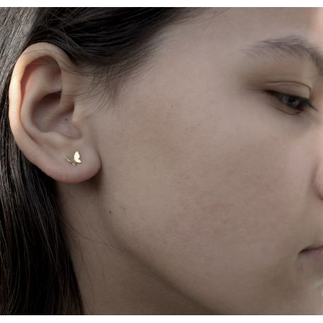 Gold plated earrings Maria