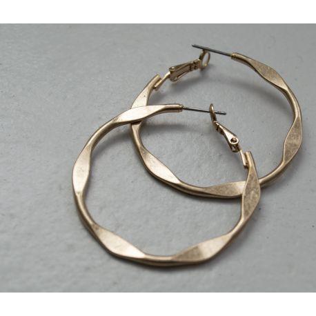 Brass hoops Max