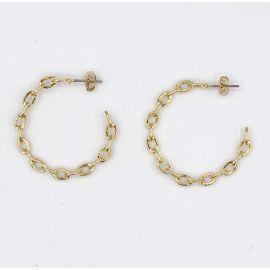 Gold plated earrings Kris