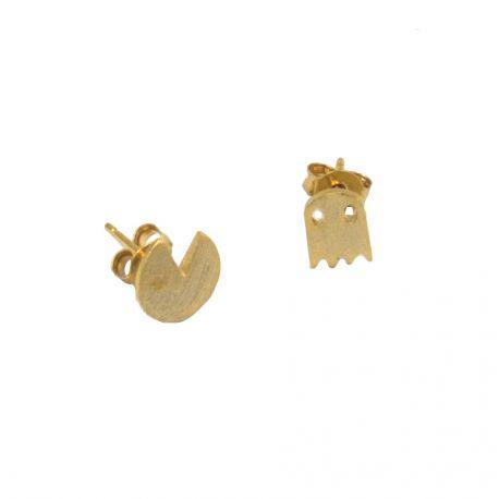 Gold plated earrings Nadia