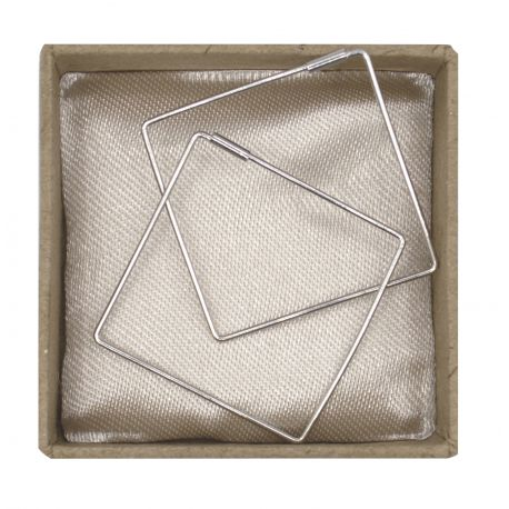 Silver earrings Simone