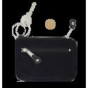 Suède sleutel portemonnee Gilda