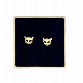 Gold plated earrings Irena