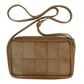 Leather bag Liam patchwork