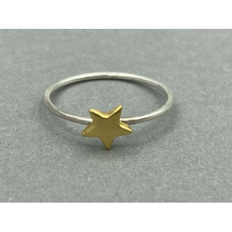 Gold plated ring Sterre