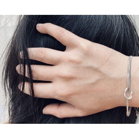 Rodium bracelet Kristo