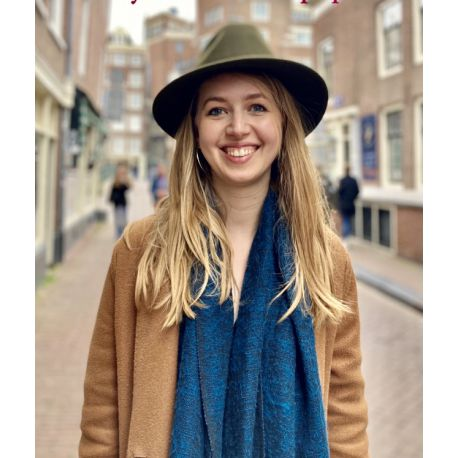 Olive 100% woolen hat Bonnie