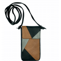 Leather bag Nigela patchwork basic for the iPhone or Samsung Galaxy
