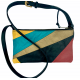 Leather bag Cyn patchwork combi 1