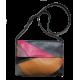 Leather patchwork bag Lana