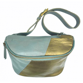 Leather bum bag Doug combi 2