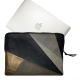 Leather laptop sleeve Lucas patchwork natural for the Apple 16 inch